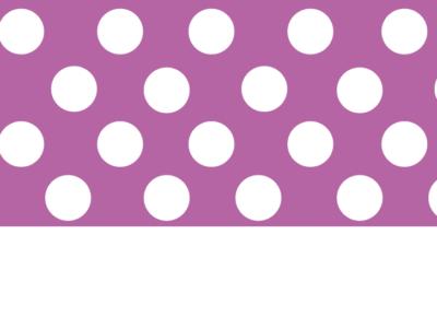 Motif pois violet