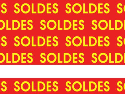 Soldes Rouge Jaune