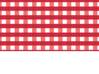 Motif Vichy Rouge