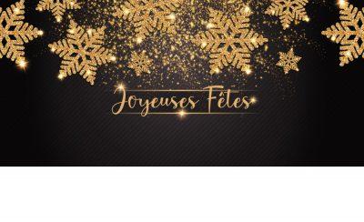 Noël Cristaux Joyeuses fêtes