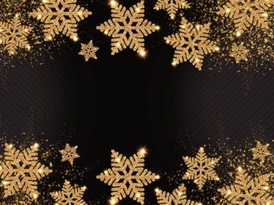 Moquette cristaux - Or et noir